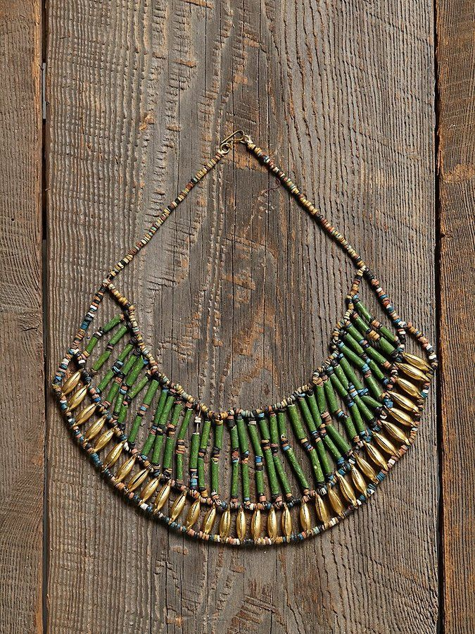 Free People Vintage Beaded Necklace on shopstyle.com