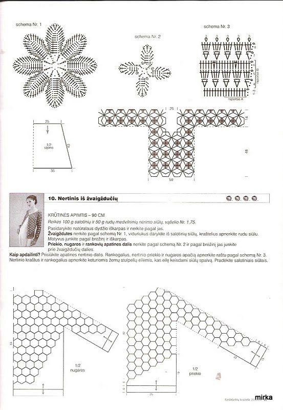 BLUSAS PARA PRIMAVERA A CROCHET 2016 PATRONES   Patrones Crochet ...