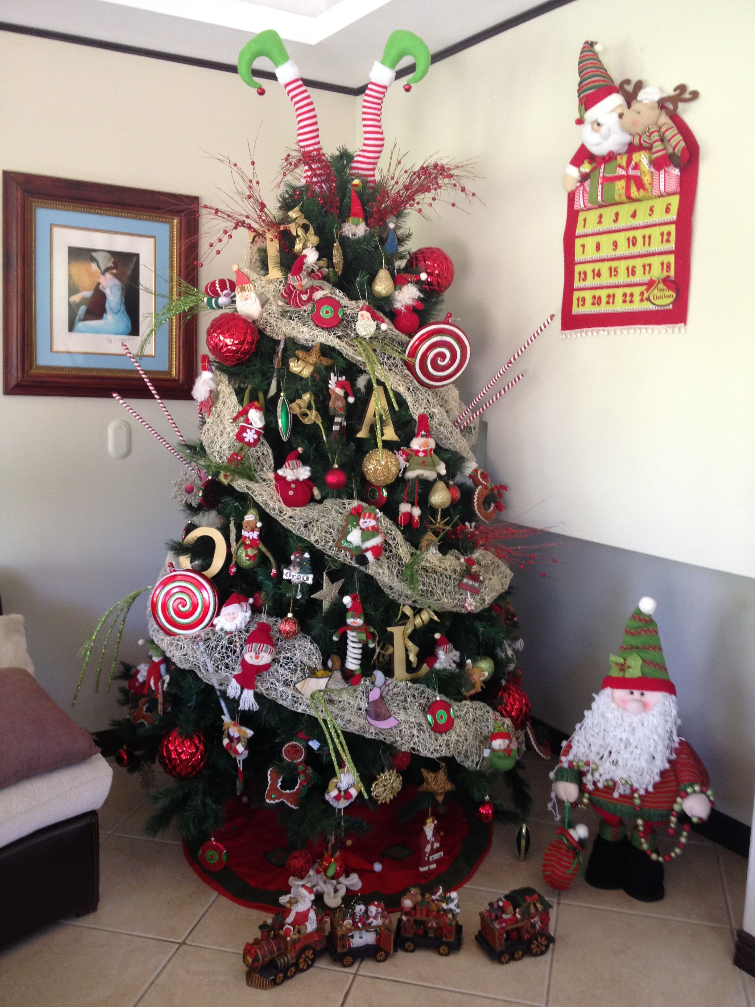 Arbol de navidad 2013 family christmas decoration - Decoracion arbol ...