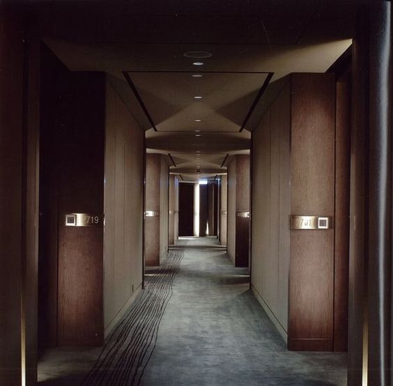 Guest corridor decor in 2019 hotel corridor corridor for Hotel corridor decor