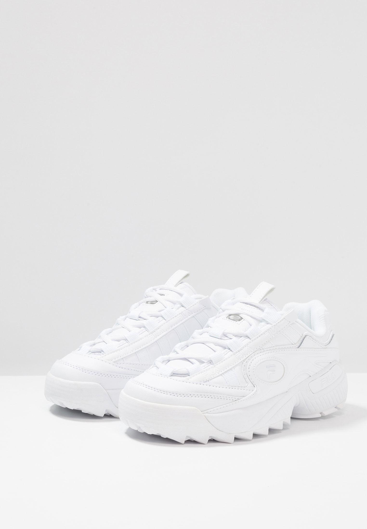 best sneakers dee7e a9da8 Fila D-FORMATION - Trainers - white - Zalando.co.uk