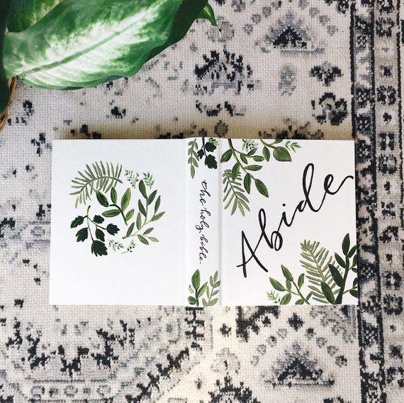 Green Vines ESV Journaling Bible