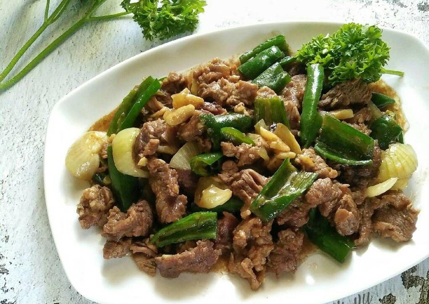 Resep Simply Beef Yakiniku Kitaberbagi Oleh Dapurvy Resep Resep Masakan Jepang Resep Makanan Masakan