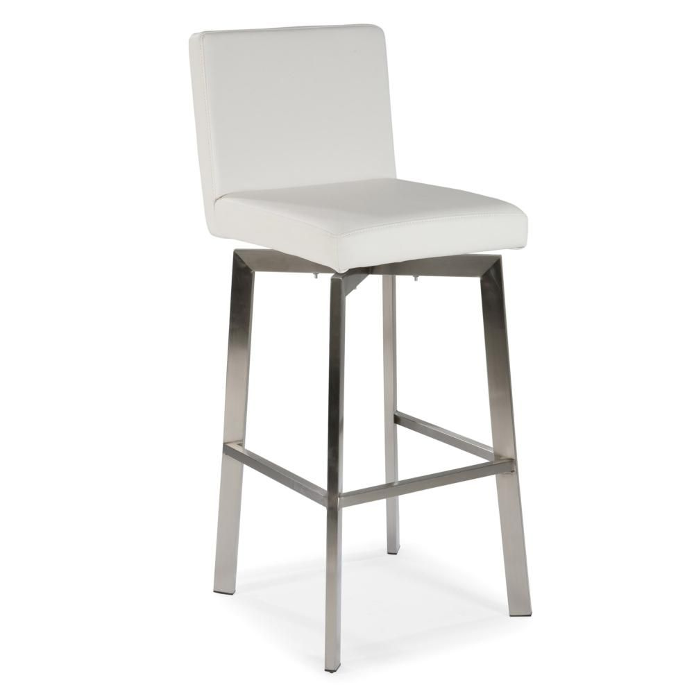 Giro Counter Stool White White Counter Stools Moe S Home Collection White Bar Stools