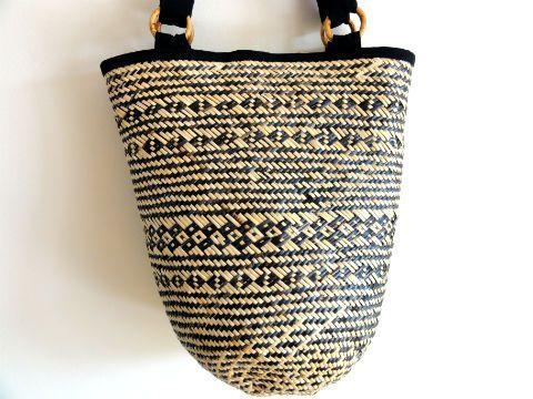 Koszyk W Stylu Etnicznym Naturalny I Na Ramie 4204132711 Oficjalne Archiwum Allegro Straw Bag Items Allegro