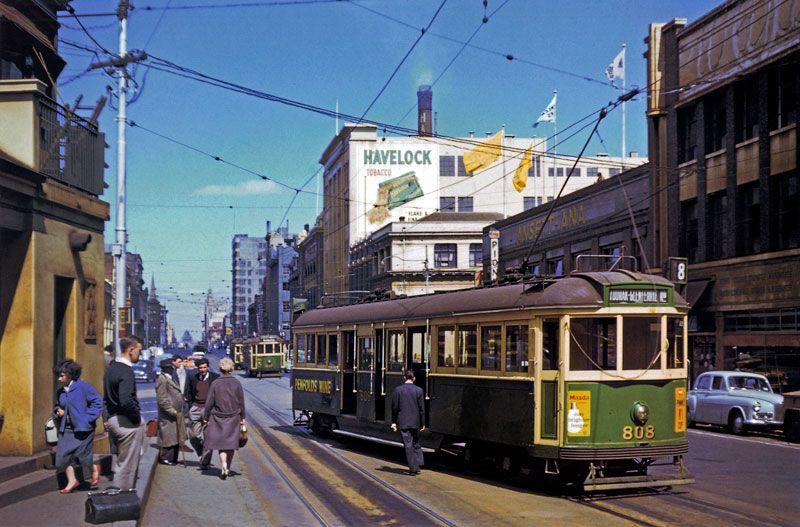Melbourne history in colour - SkyscraperCity | Melbourne