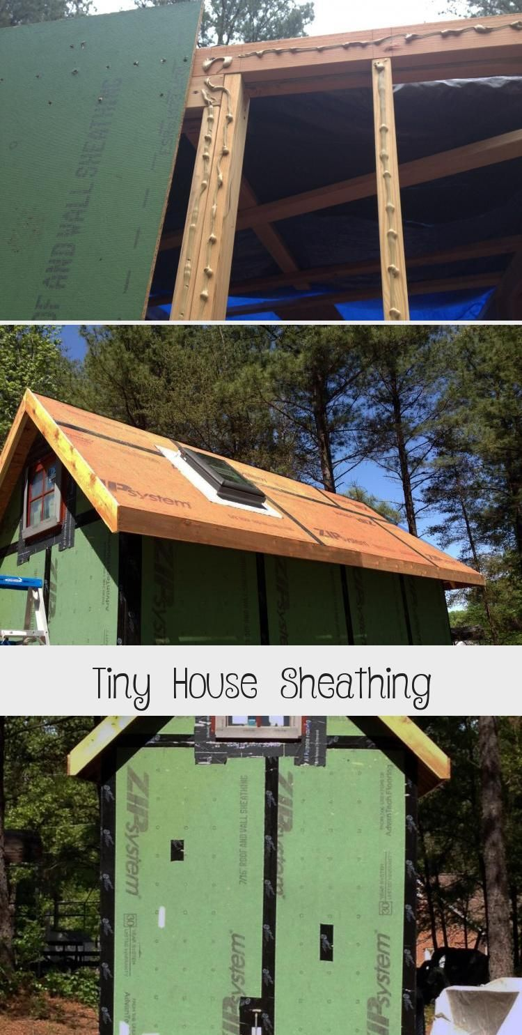 Don't sheath your tiny house before reading this! Learn