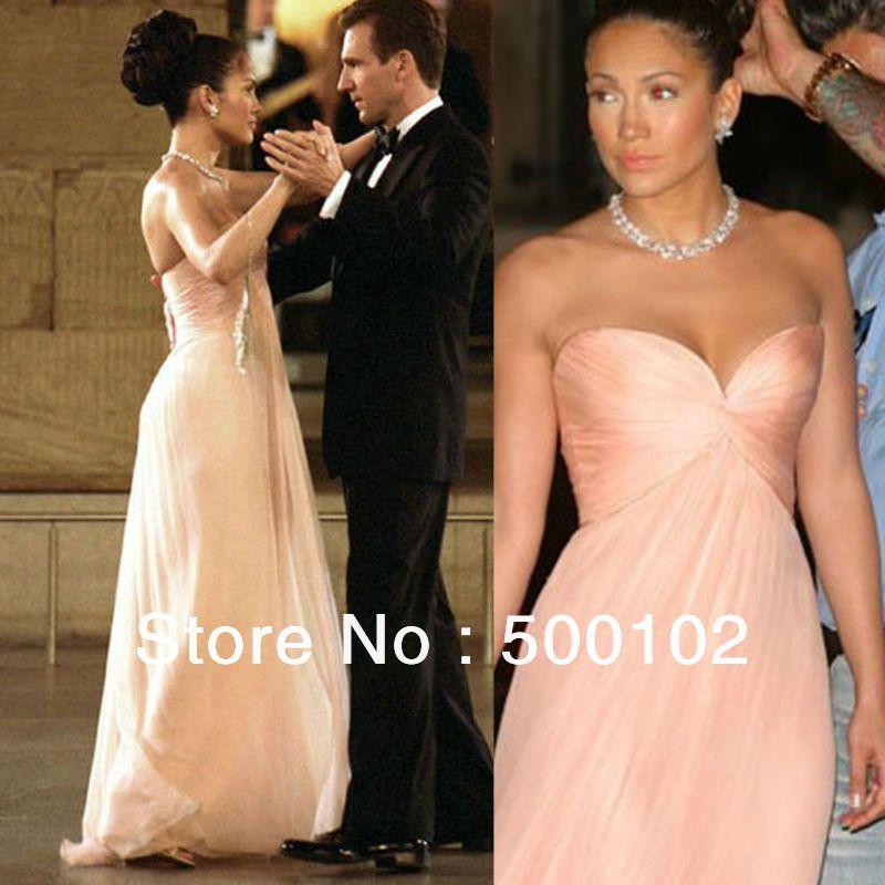 Best Selling Jennifer Lopez Dresses Maid In Manhattan Prom Dresses ...