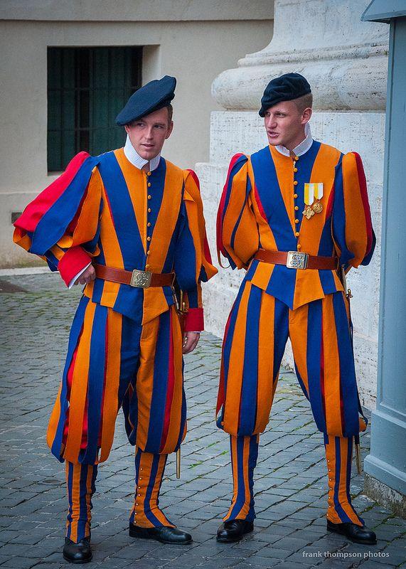 Swiss Guard Vatican City Swiss Guard Vatican Men In
