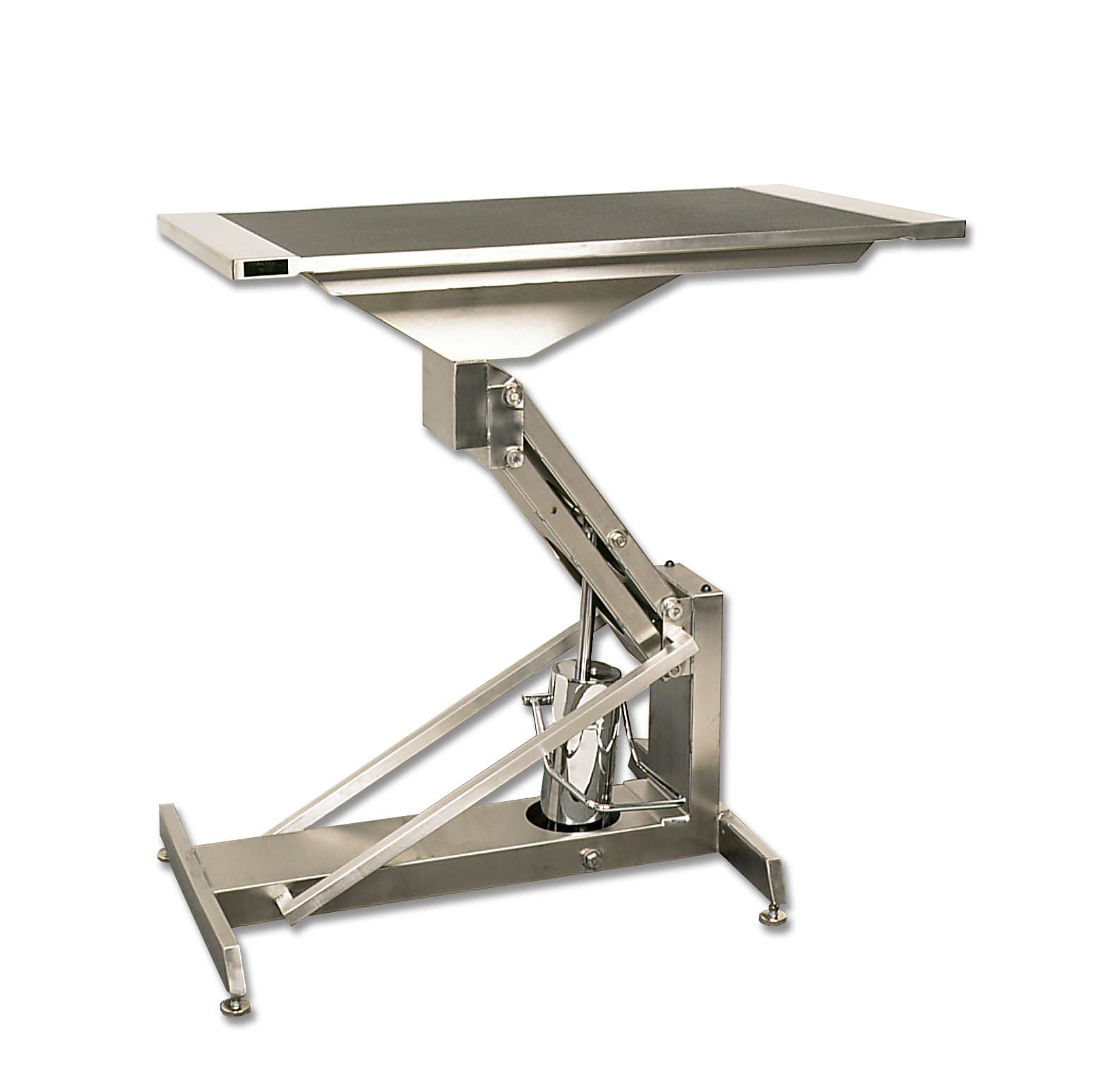 Hydraulic Table Lift Kits : Forever stainless steel large hydraulic lift table