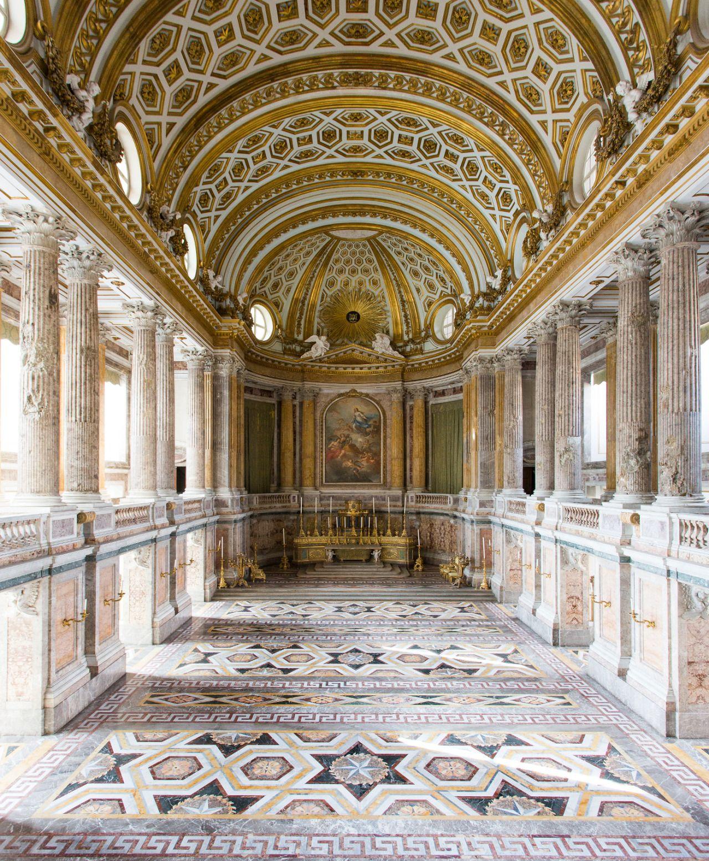 Cappella Palatina Reggia Di Caserta Interni.Eccellenze Italiane Cappella Palatina Reggia Di Caserta Italia