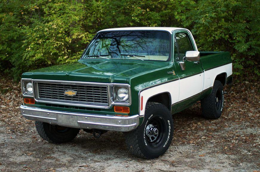 Super Clean 1974 1975 Chevy K10 Squarebody C10 4x4 Chevrolet