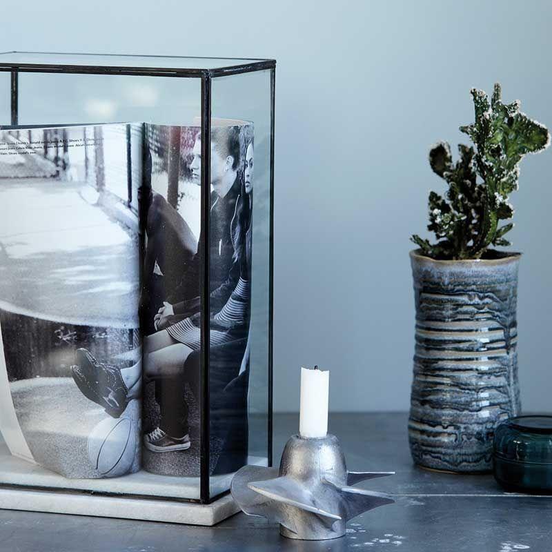 Glas Schaukasten Marbel groß von house doctor