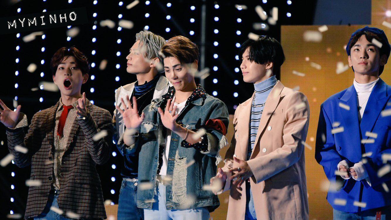 161008 Shinee Dmc Festival 2016 Mbc Korean Music Wave Shinee Taemin Minho Music Waves Korean Music Shinee