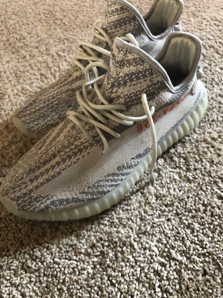 more photos a7482 9a8c8 Blue Tint Yeezy Boost 350 V2 Size 10 Mens Preowned #fashion ...