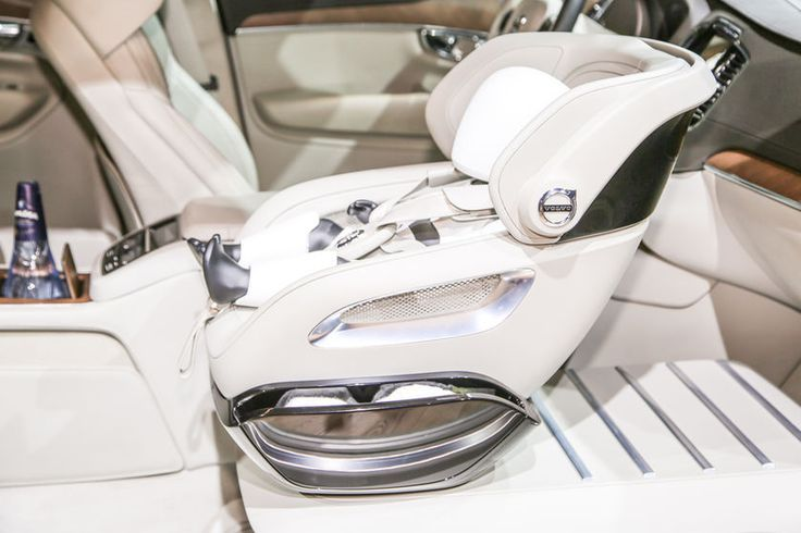 Volvo Xc90 Excellence Interior Baby Seat