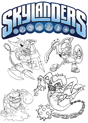 Print free colouring sheets with skylanders. Browse all the ...