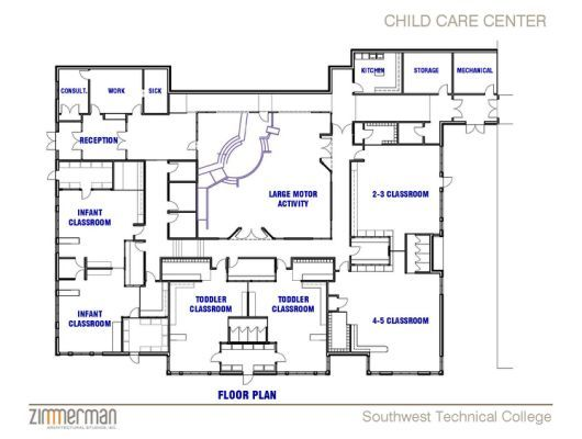 Day Care Center Layout  Crafting Ideas    Layouts