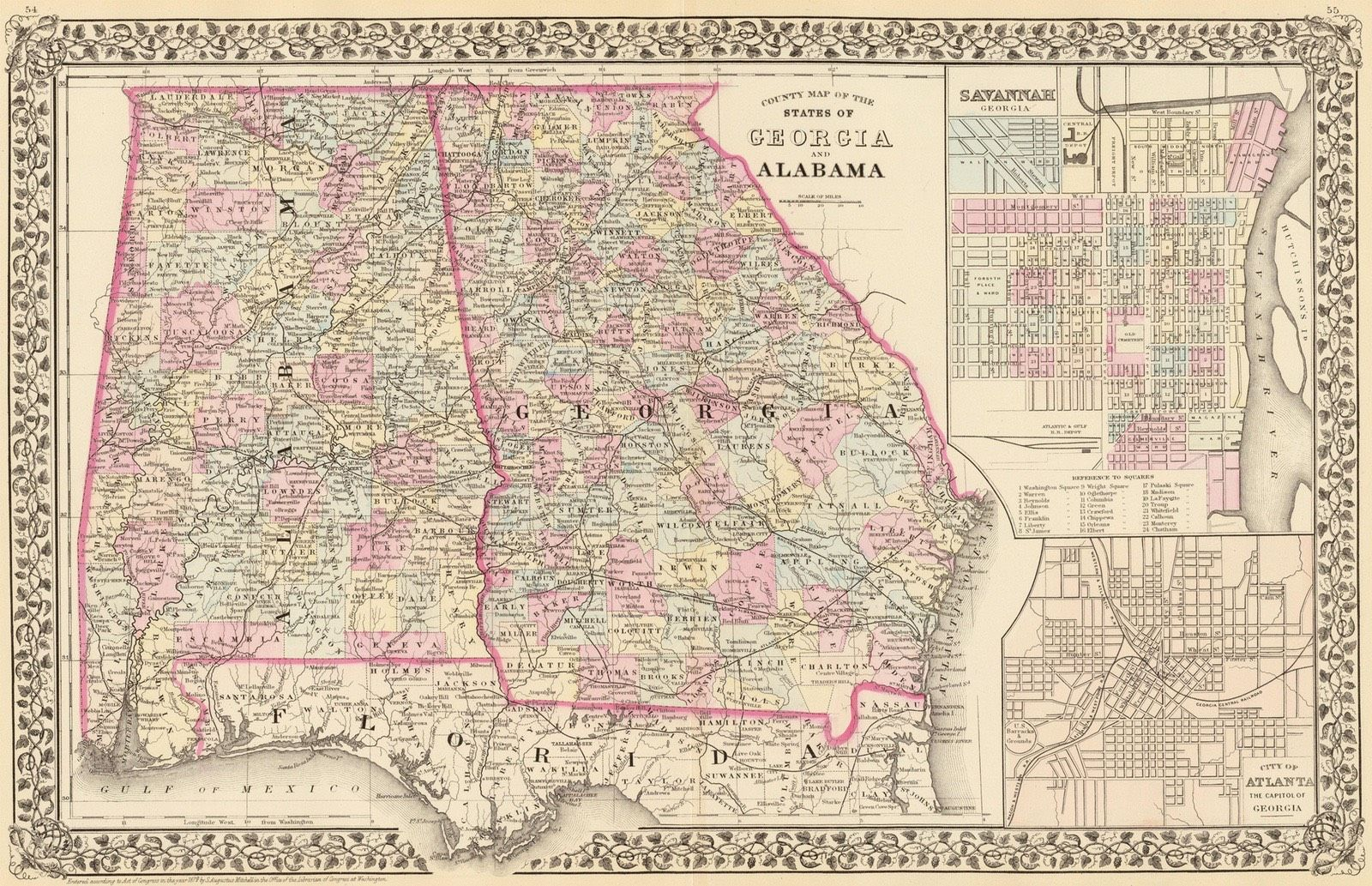 State and County Maps of map, County map