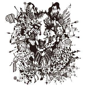 狼かっこいい線画 参考になるシンプルな線画 アーティスト