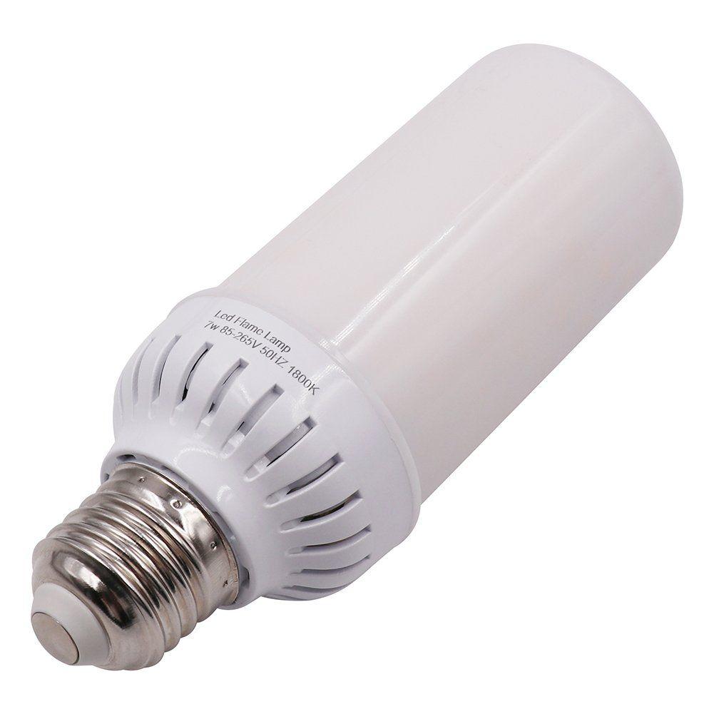 Xunata E27 E26 2835 Led Flame Effect Fire Light Bulbs 4w Creative Lights Flickering Emulation Vintage Atmosphere Decora Light Bulb Lamp Decor Creative Lighting