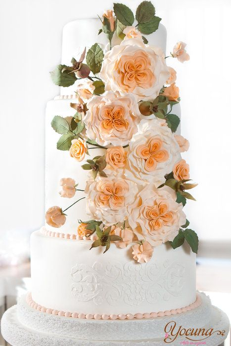 Tarta de Boda - Wedding cake - by Yocuna