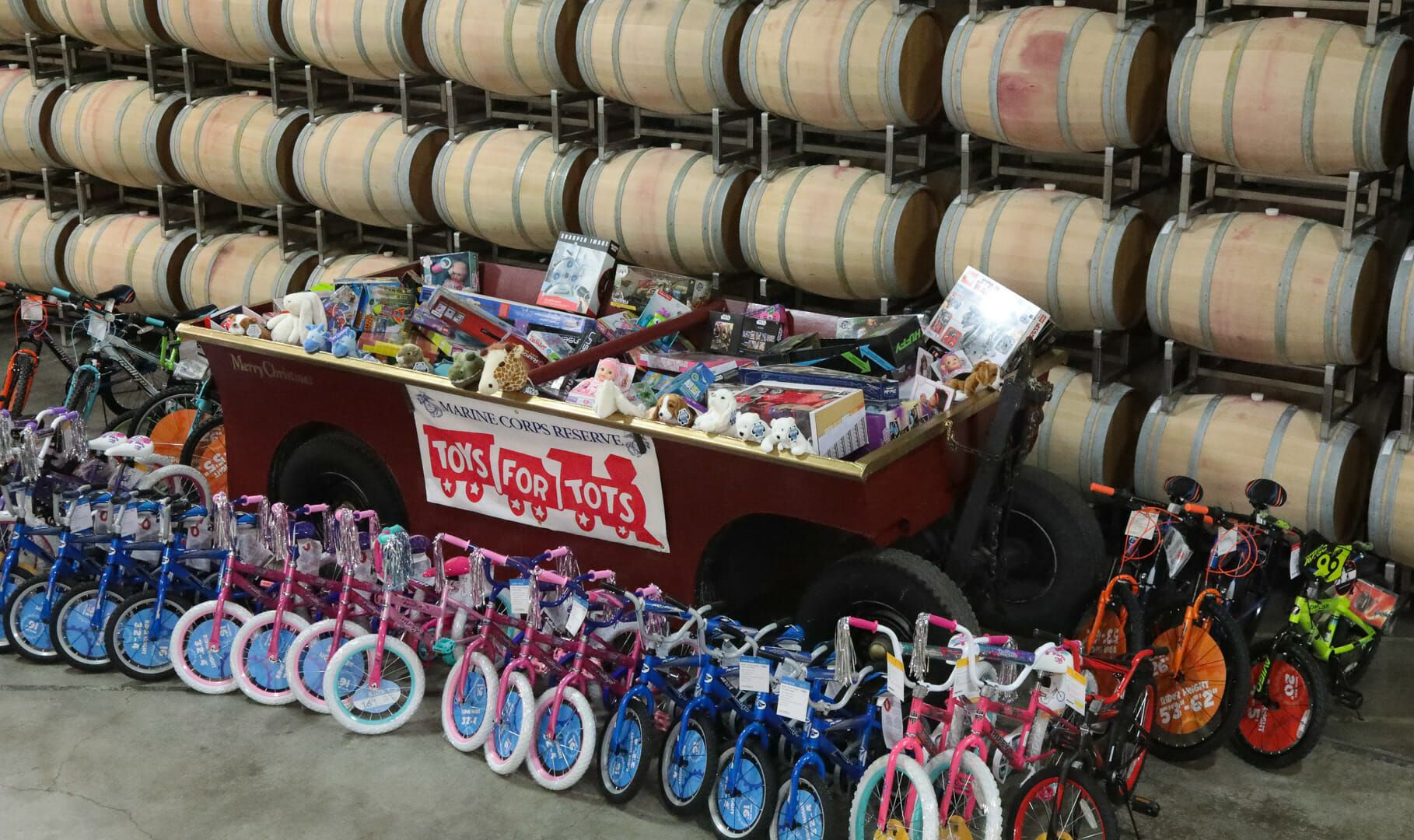 Toys for tots images   Sonoma Toys for Tots Donation Drive Begins at Jordan Winery