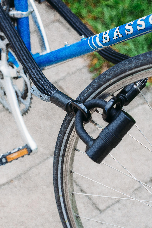 Black Bicycle Lock With Images Black Bicycle Bicycle Lock