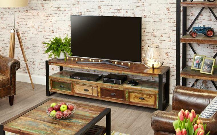 Muebles de tv inspirate con estas ideas que hoy te compartimos y descubre el mejor para - Muebles de hoy ...