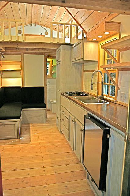 8x8 Bedroom Design: Molecule Tiny Homes: Charwood Cabin. 8x20.8x8 Loft, 3x8