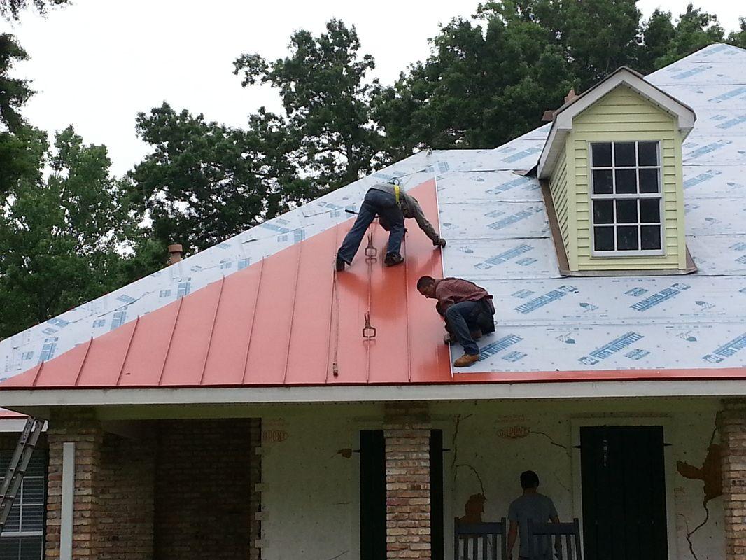 Standing Seam Roof Installation Standing Seam Roof Standing Seam Metal Roof Metal Roof