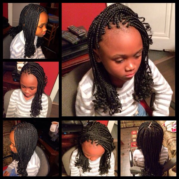 Kanekalon Braids For Kids Kid Braid Styles Black Girl Braids Kids Hairstyles
