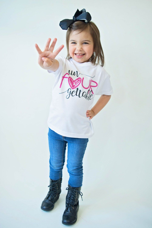 fc005a42b0986 Un Fourgettable Birthday Top Birthday Shirt Birthday Girl | Etsy ...