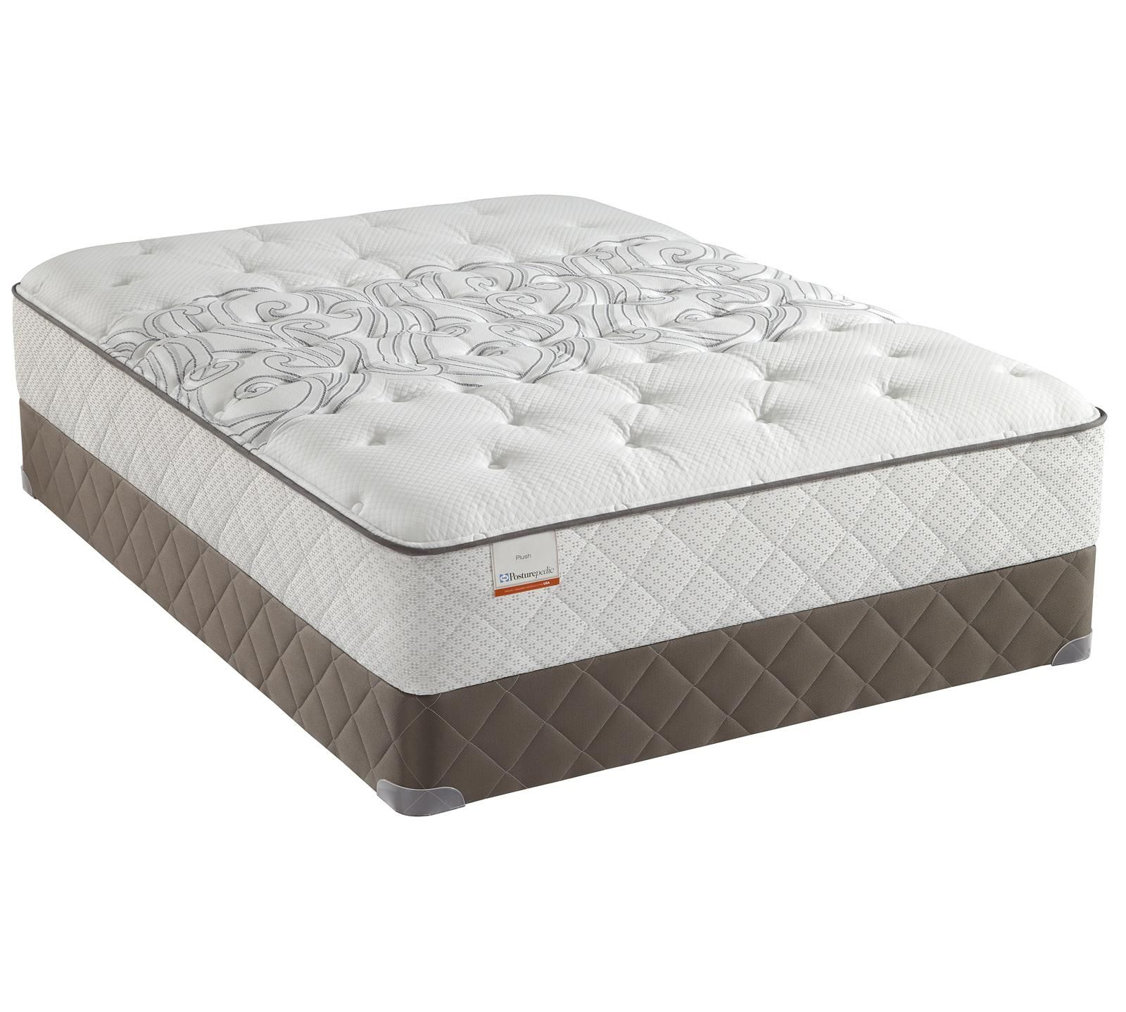 The Sealy Posturepedic Santa Ana Plush Features Anium Alloy Coils And Gel Memory Foam Coresupport