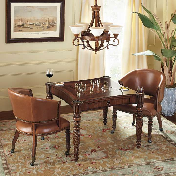 game tables and chairs | Mandalay Chess Game Table and ...