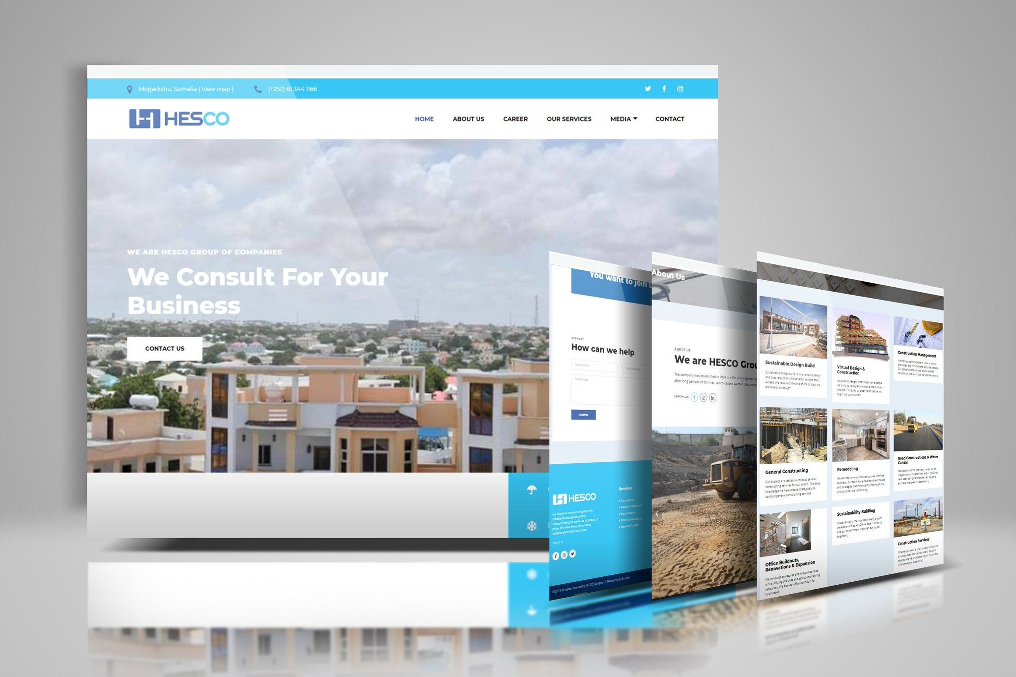 Check Out Hesco So A Well Crafted Art Made By Our Team Suubbis Join Our Satisfied Clients Today To Unleash Your Brand Webhosting Digital Marketing Services Domain Hosting Building A Website