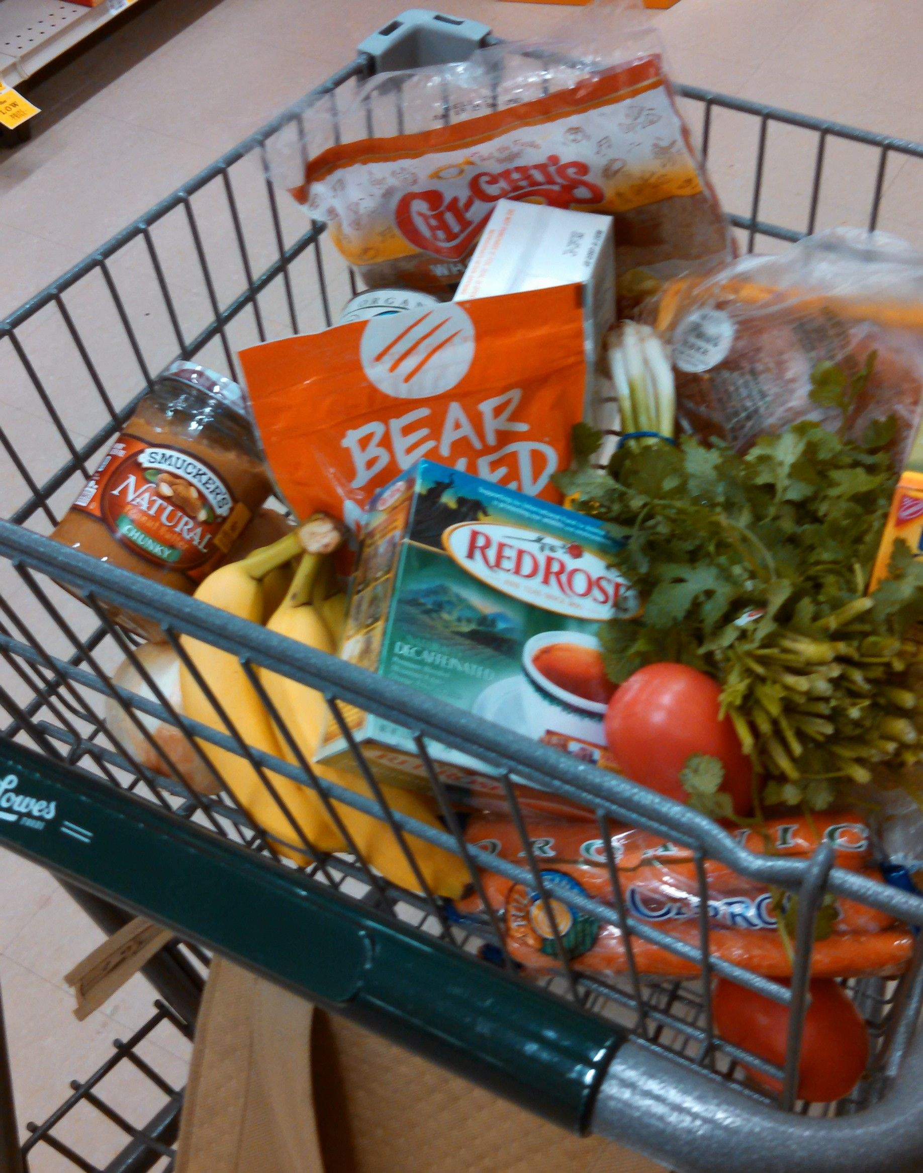 Shopping Cart Smarts Market baskets, Easy food to make