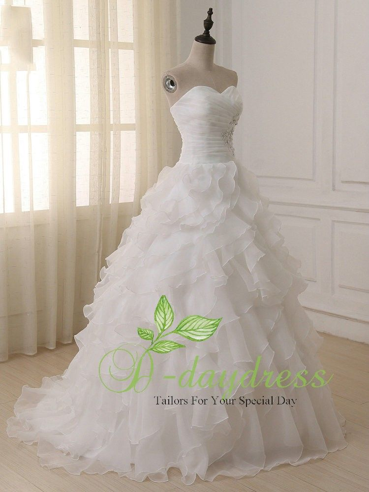 Cheap A Line Wedding Dress 2018 Ivory Corset Boho Plus Size Wedding