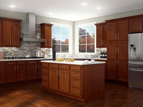 Kitchen Kompact Glenwood Beech Base Cabinet At Menards