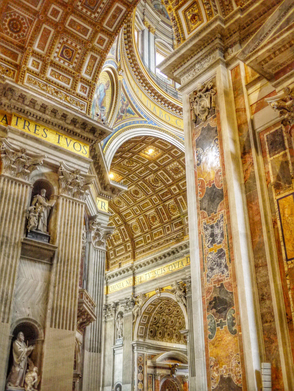 St Peters Basilica, Rome, Vatican Rome