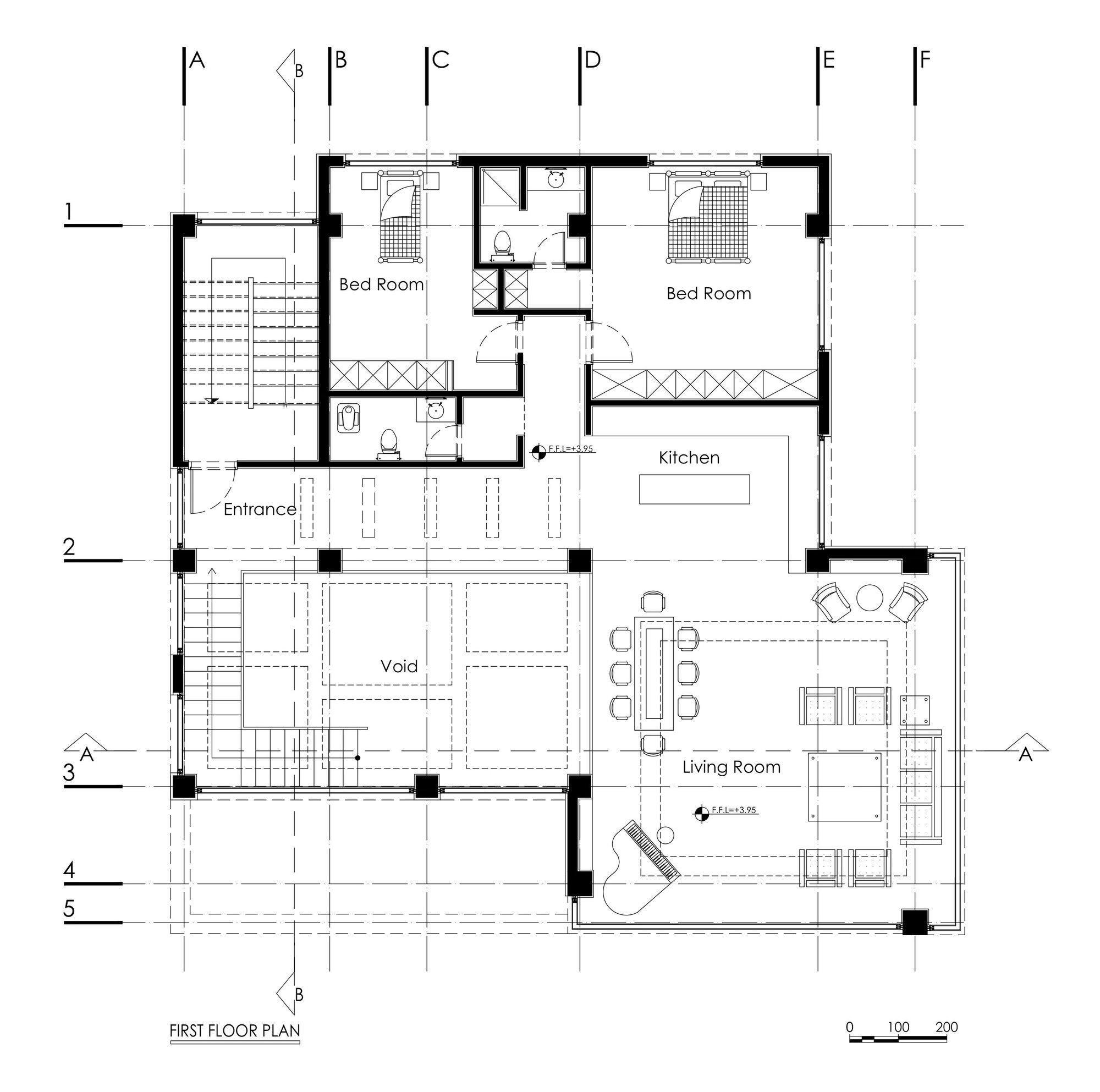 Gallery Of Fardis Villa Dariandesign 12 Floor Plans Ground Floor Plan Villa