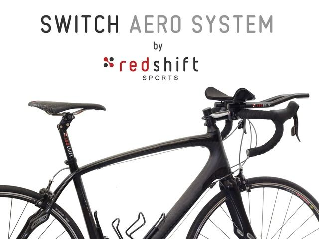 Switch Aero System One Bike Two Rides By Redshift Sports