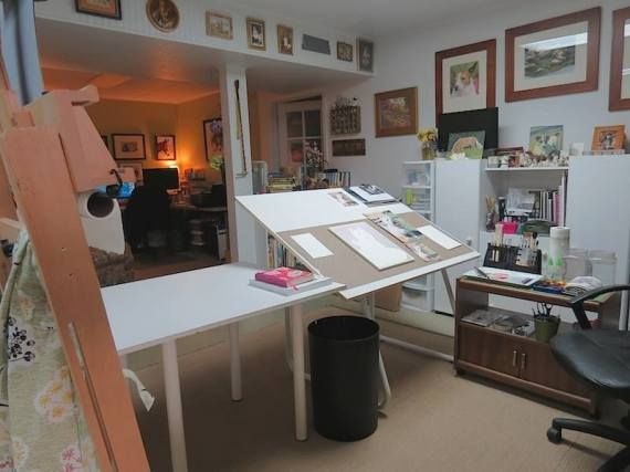 Carole Pivarnik S Studio And More 44 Stunning Art Studios That Will Inspire You To Get Back