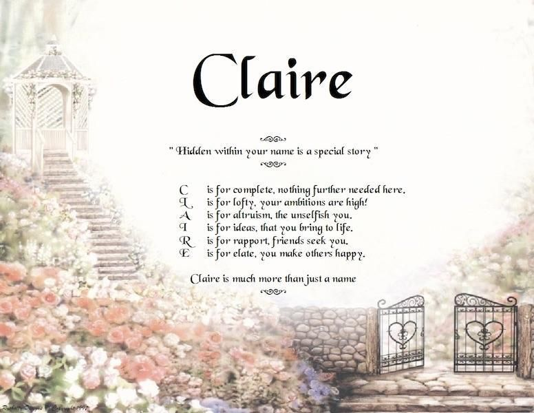 Acrostic Name Turns Into Poem in 2020 Personalised gifts