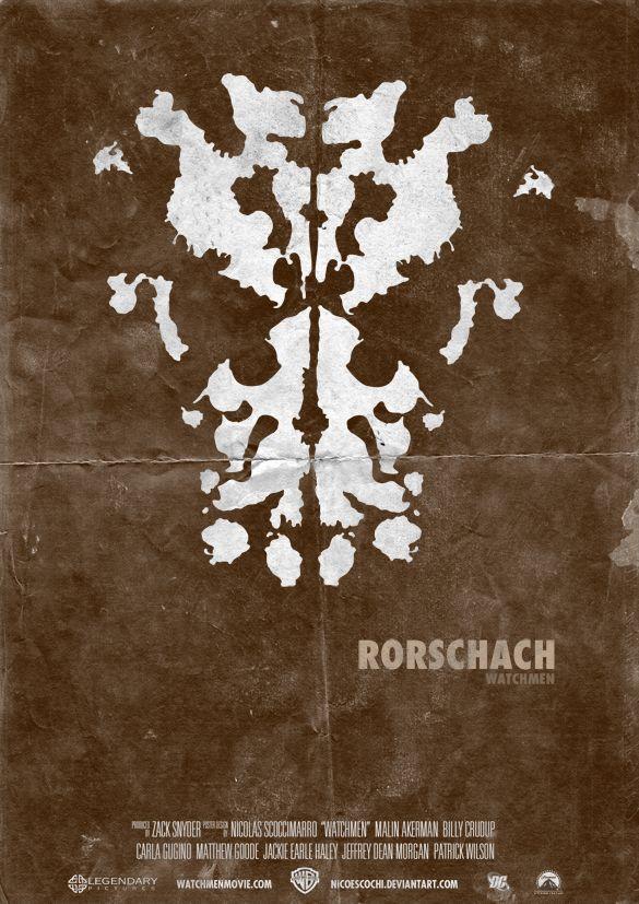 rorschach poster rorschach evolution pinterest poster