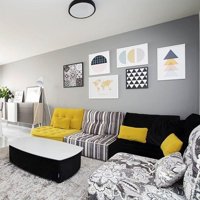 salon modulable l 39 infini tr s color et tendance a. Black Bedroom Furniture Sets. Home Design Ideas