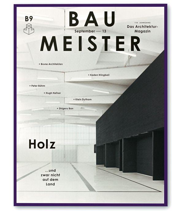 Architektur Magazin baumeister das architektur magazin designed by herburg weiland