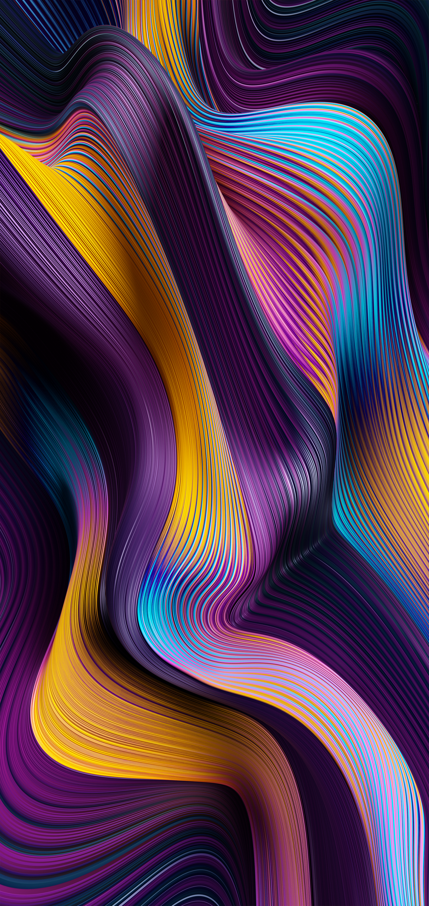 MIUI 12 Wallpaper (YTECHB Exclusive) in 2020 | Abstract ...