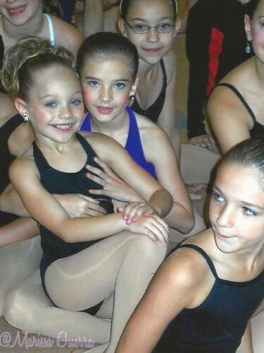 Maddie and Brooke when they were little