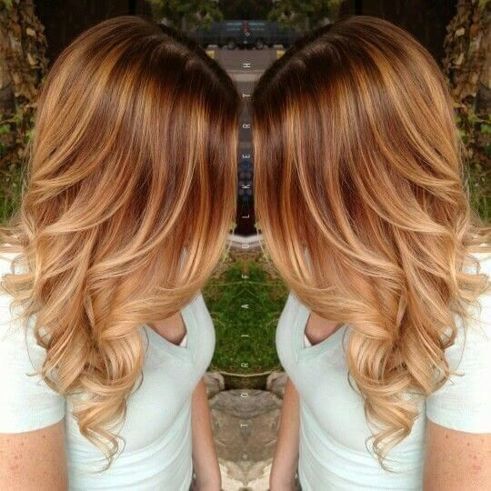 50 der Trendy Strawberry Blonde Haarfarben für dieses Jahr #cabelos